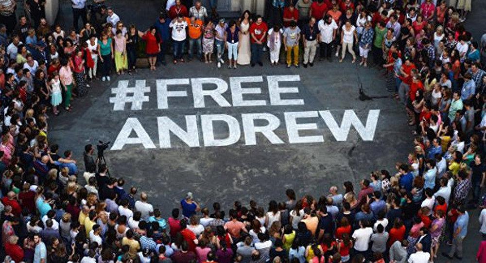 La délégation permanente de la Russie auprès de l'UNESCO appelle à soutenir #free Andrew