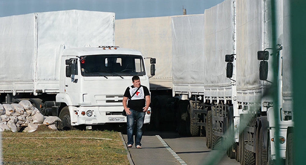 MAE de Russie : le convoi humanitaire se met en route vers Lougansk