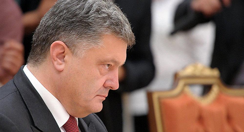 Porochenko va demander aux Etats-Unis de reconnaître RPD et RPL comme organisations terroristes