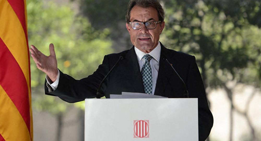 Le chef de la Catalogne signe un décret sur la tenue d'un référendum d'indépendance