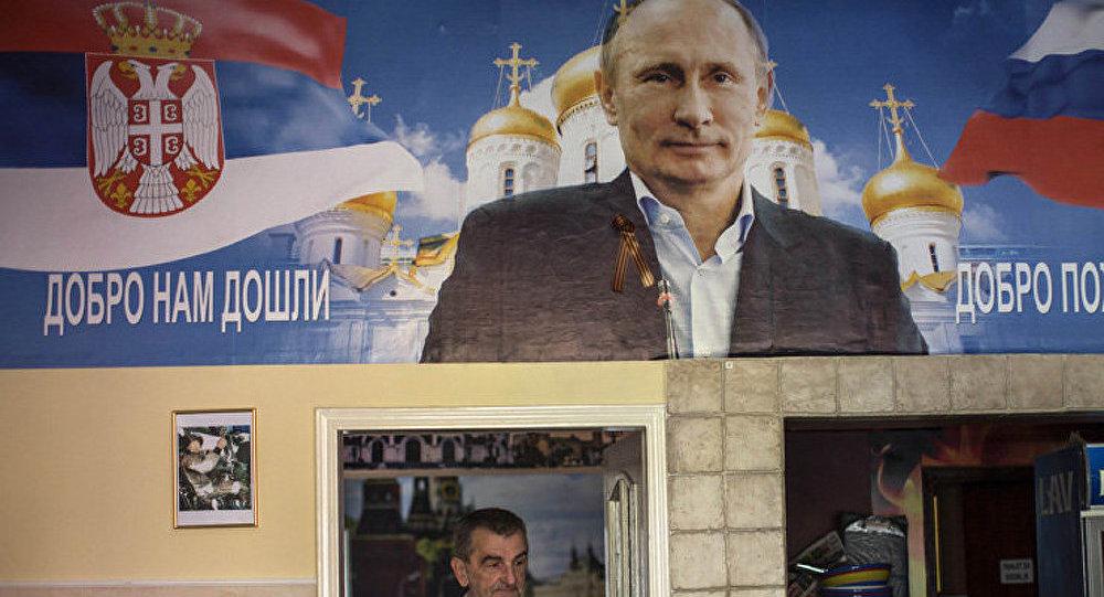 Interview accordée par le président russe Vladimir Poutine au quotidien serbe Politika