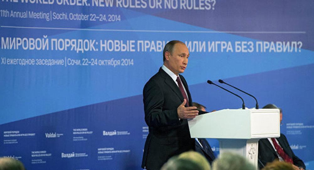 Les démarches irréfléchies menacent l'ordre mondial (Poutine)