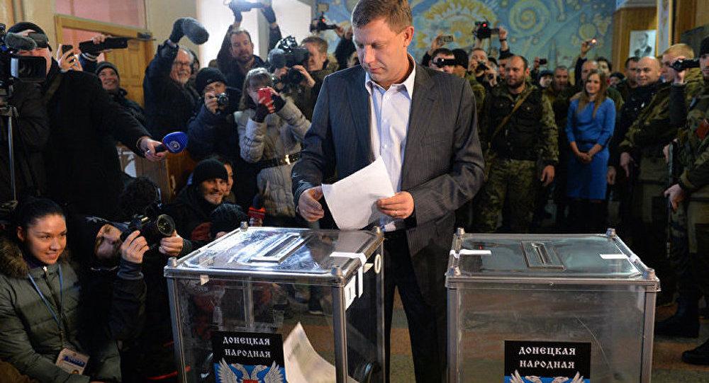 Donetsk : le Premier ministre Zakhartchenko remporte les élections