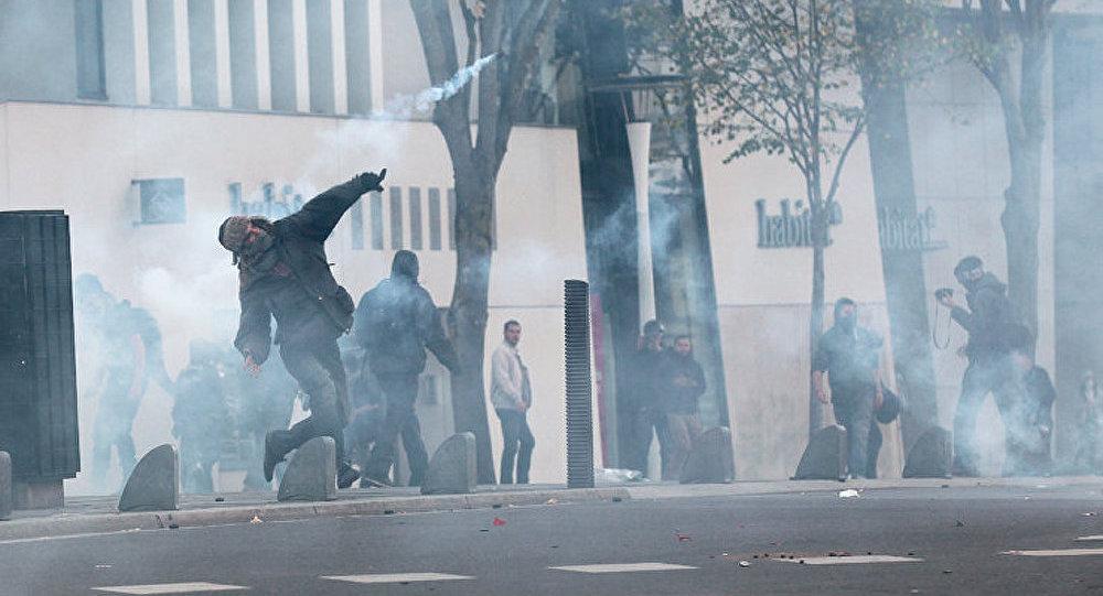 2 policiers blessés à Toulouse lors d'une manifestation pour Rémi Fraisse