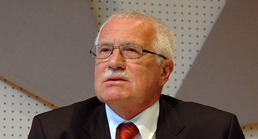 Vaclav Klaus : il n'y a plus de liberté en Europe