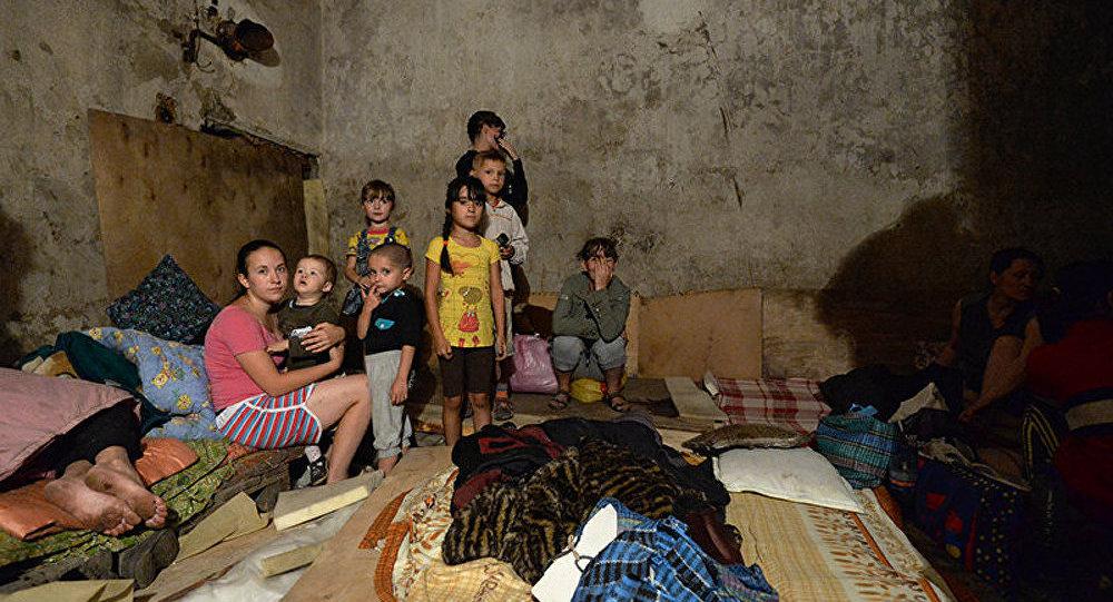 Porochenko : leurs enfants resteront dans les sous-sols !