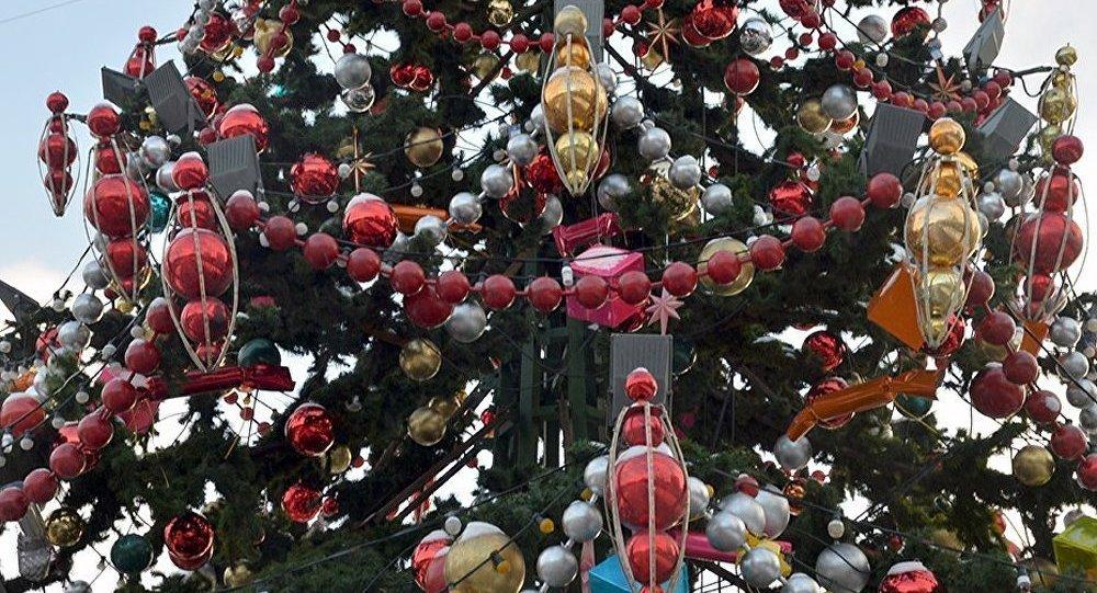 Les autorités nord-coréennes ont menacé de détruire l'arbre de Noël sud-coréen