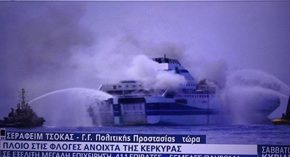 Pas de citoyens russes à bord du ferry grec accidenté (Consulat de la Russie)