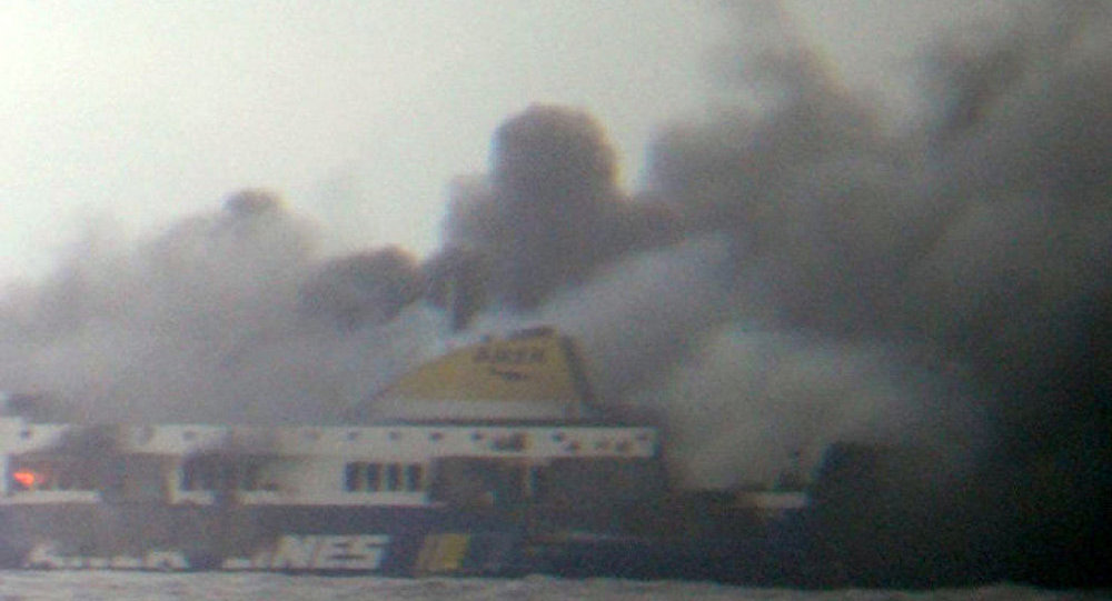Un mort à la suite de l'incendie du ferry Norman Atlantic (ministère de la Mer grec)