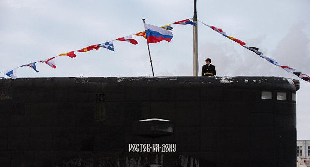 La Marine russe reçoit un 2e sous-marin furtif trou noir