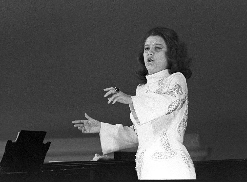 En 1975, Elena Obraztsova a été sacrée en Espagne meilleure interprète mondiale du rôle de Carmen.