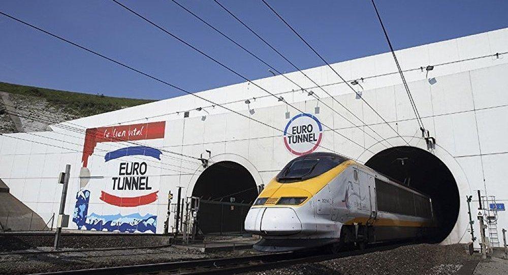 Le tunnel sous la Manche (Eurotunnel)