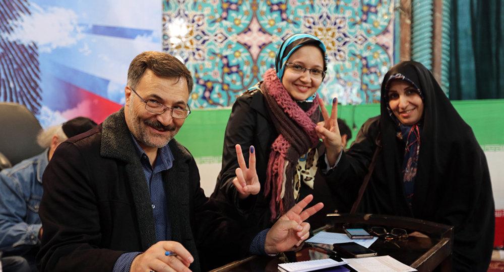 le peuple iranien a pris part aux élections de l'assemblée législative