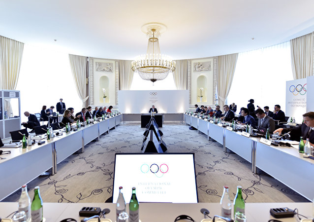 La commission exécutive du Comité international olympique (CIO)