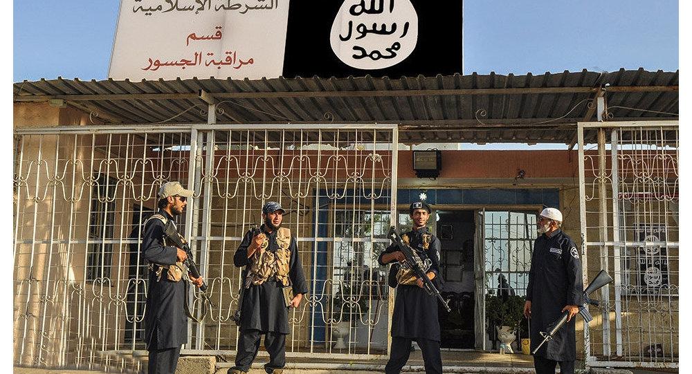 Djihadistes de Daech en Irak (2014)