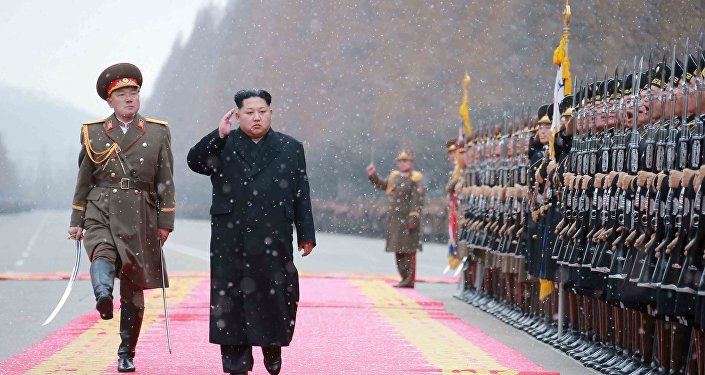 Le dirigeant nord-coréen Kim Jong