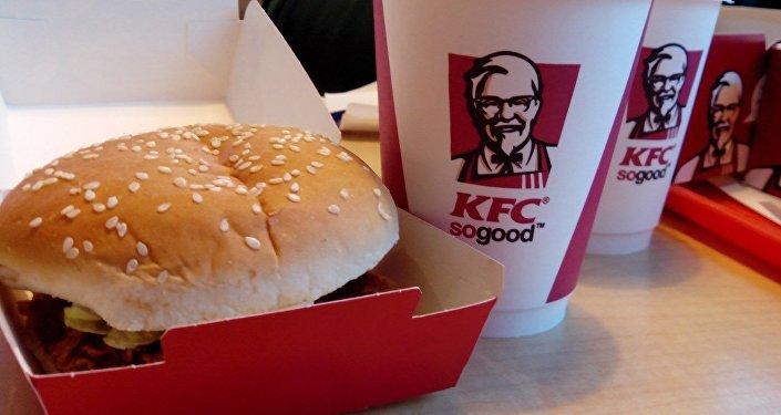 Un repas KFC