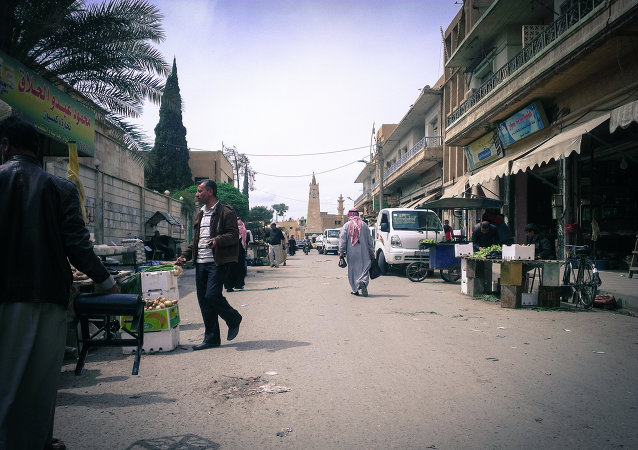 Ville de Raqqa, Syrie