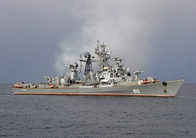 Le destroyer russe Smetlivy