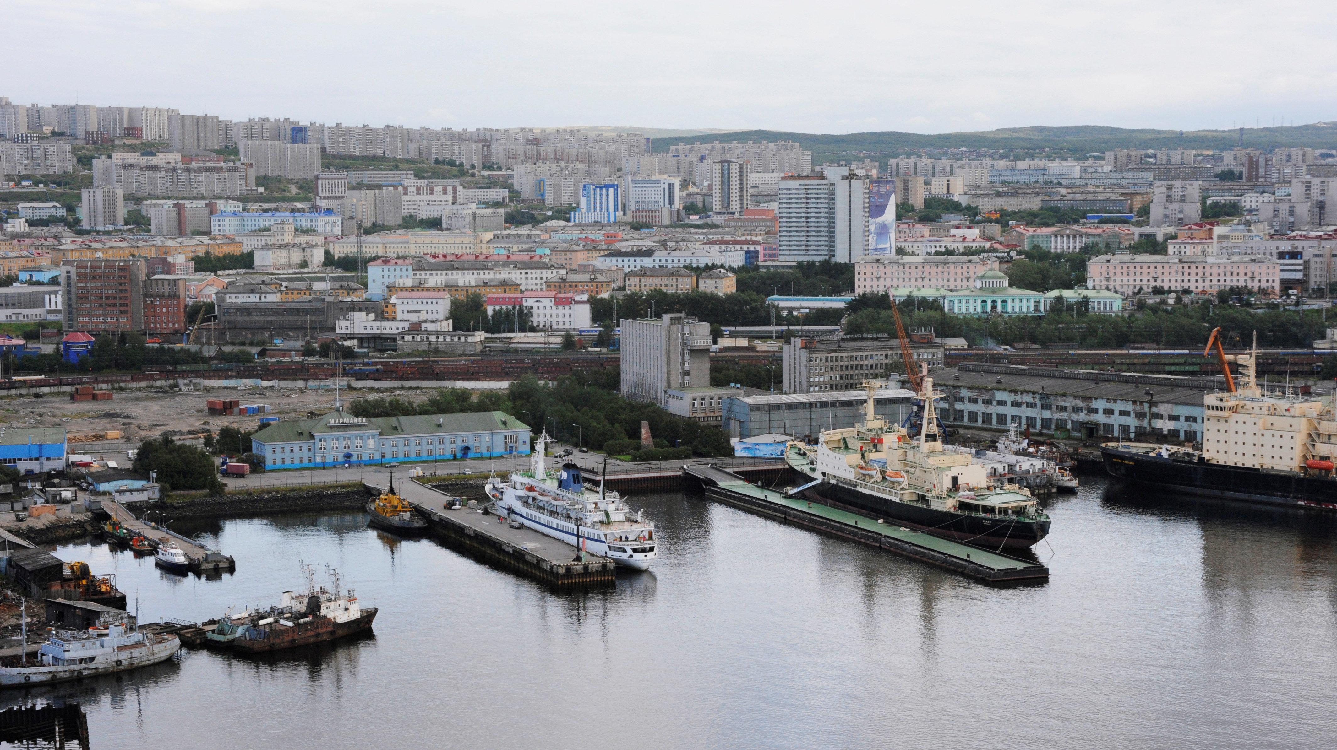Mourmansk, la plus grande ville du monde située au nord du cercle Arctique