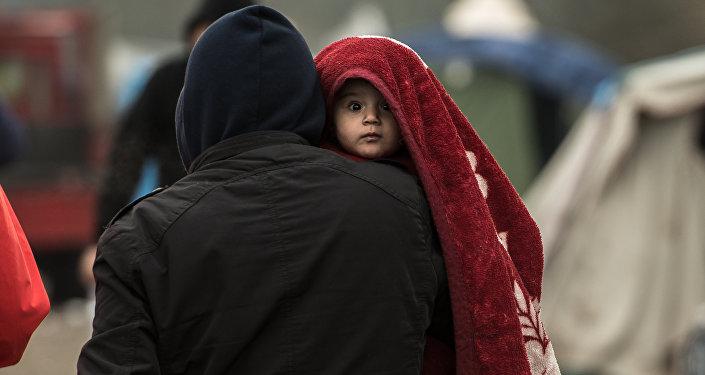 Camp de réfugiés à Grande-Synthe