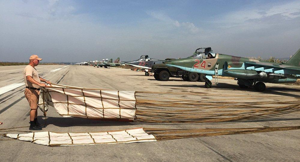 Su-25 sur la base de Hmeimim, Syrie