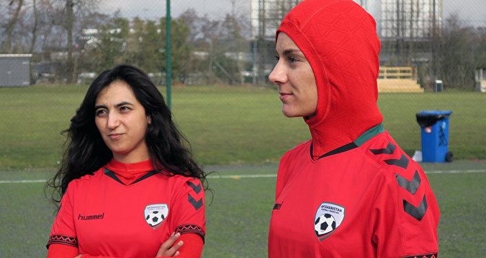 un maillot hijab pour le football