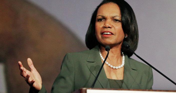 Condoleezza Rice, ancienne secrétaire d'Etat américain