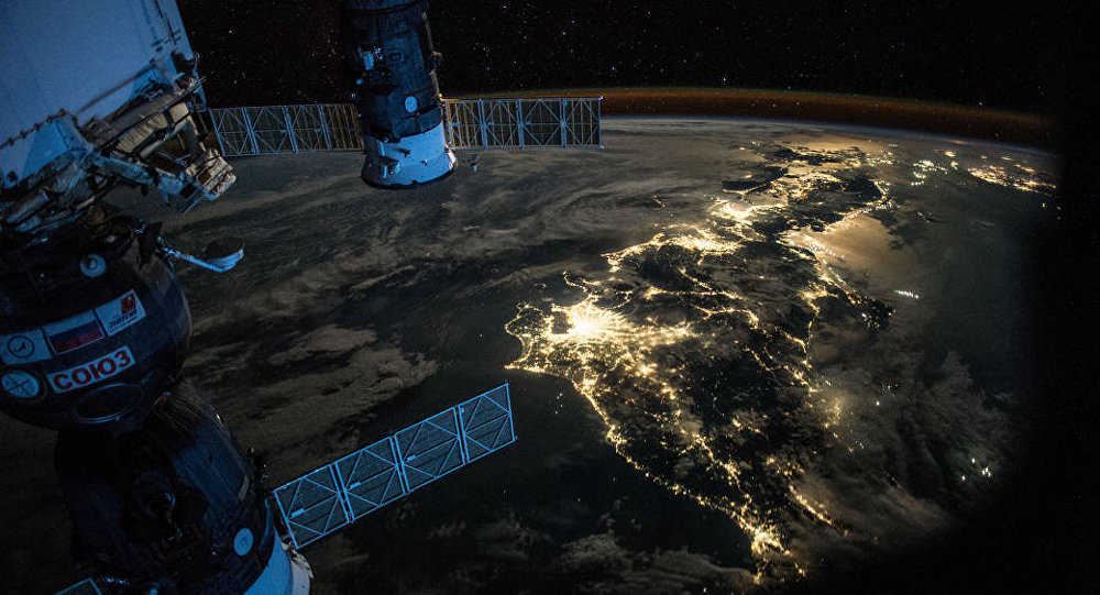 Une photo de la Terre prise depuis l'ISS