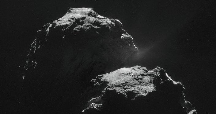 La comète 67P