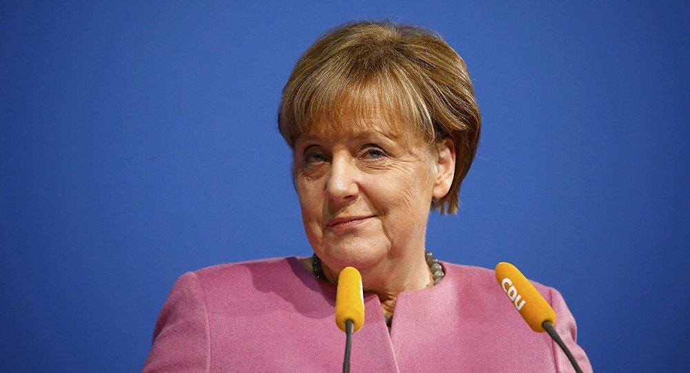 La chancelière d'Allemagne  Angela Merkel