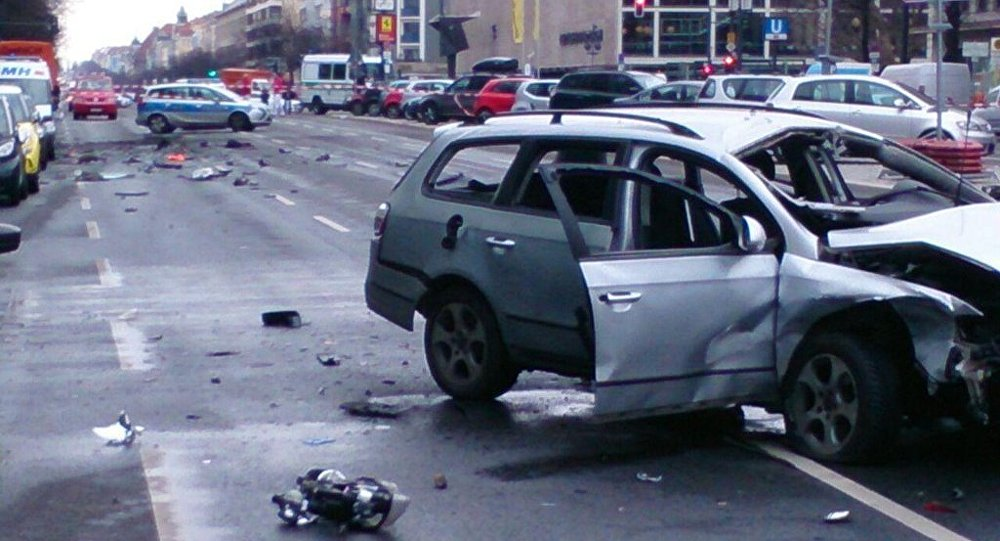 Une voiture piégée explose à Berlin