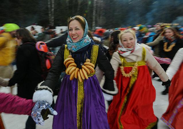 Maslenitsa, célébration du Mardi Gras en Russie