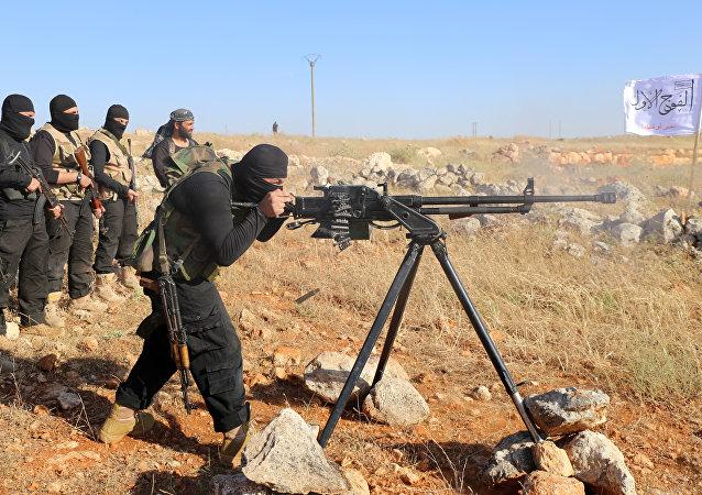 Combattants anti-Assad