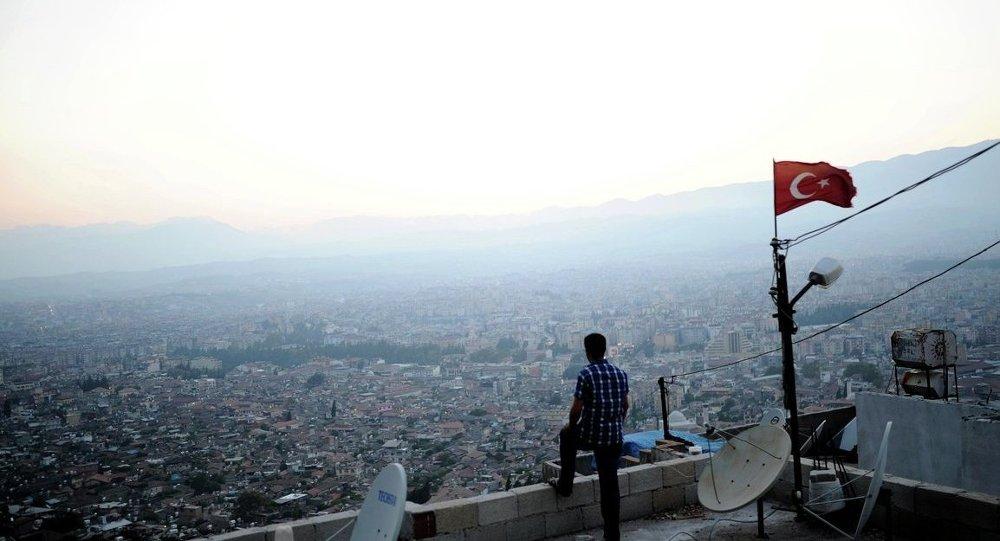 Hatay-Suriye sınırı