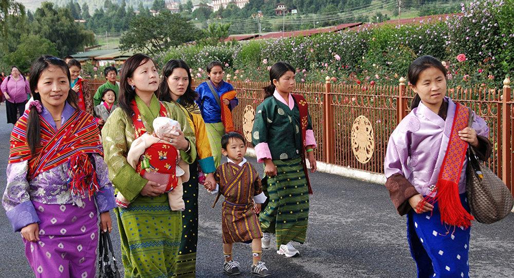 Le Bhoutan C 233 L 232 Bre La Naissance Du Nouveau Prince En