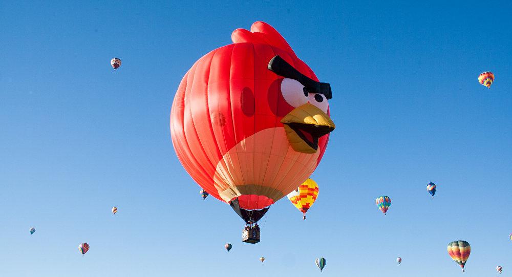 Red, l'un des personnages des Angry Birds