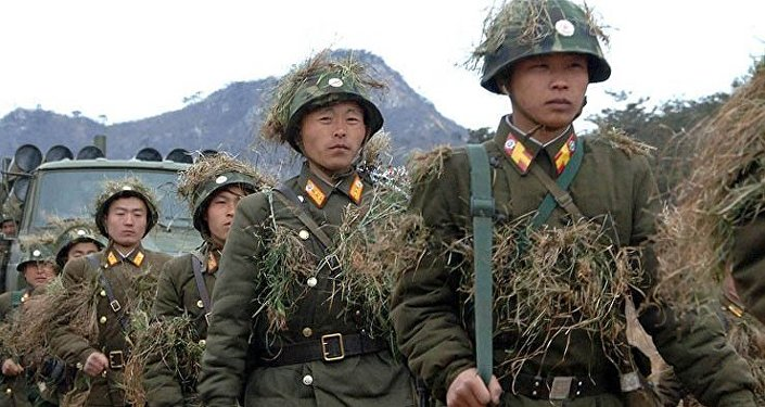 Les Nord-Coréens débarquent en Corée du Sud