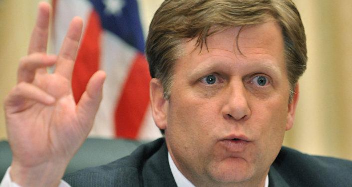 l'ancien ambassadeur américain en Russie Michael McFaul