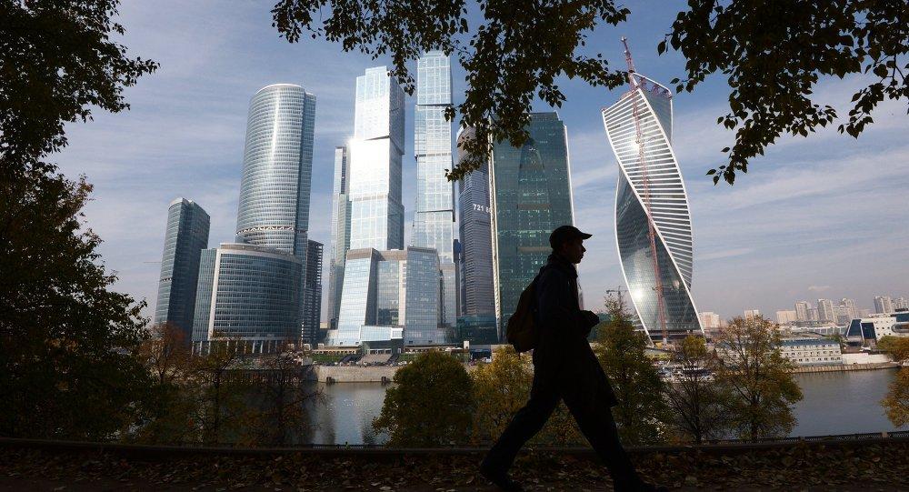 Les gratte-ciel de Moskva-City