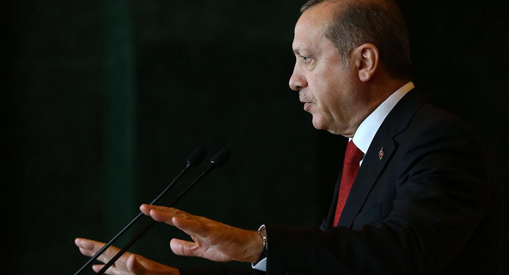 Le président de Turquie Recep Tayyip Erdogan