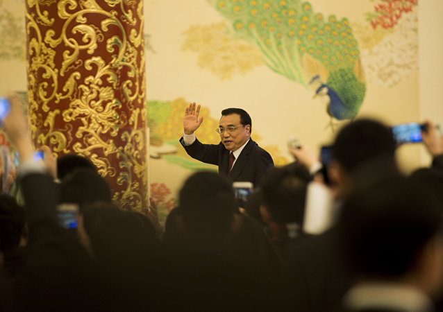 le premier ministre Li Keqiang
