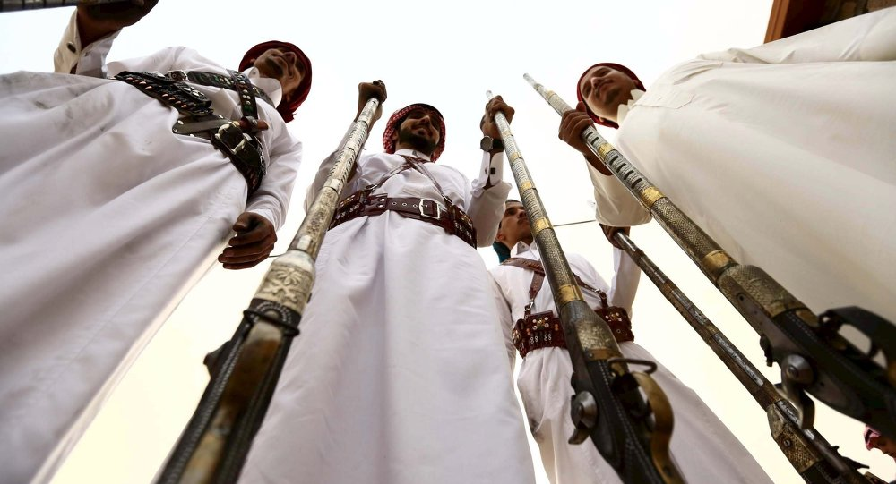 Des musulmans saoudiens