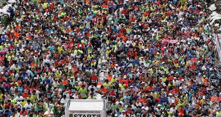 Un marathon, image d'illustration