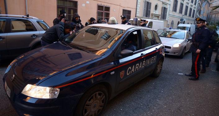 Les carabiniers italiens