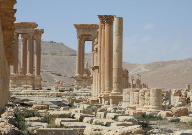 La cité historique de Palmyre libérée des terroristes