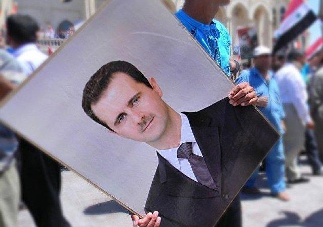 Portrait de Bachar el-Assad