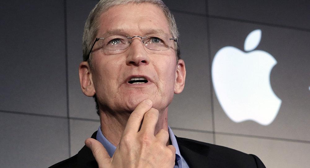Le président d'Apple Tim Cook