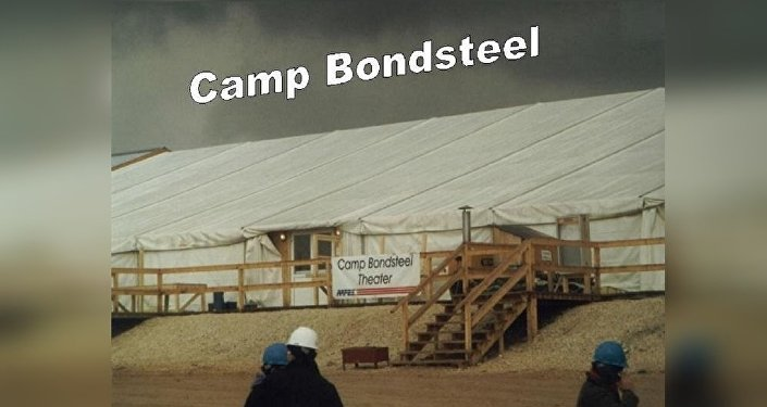 Le camp Bondsteel