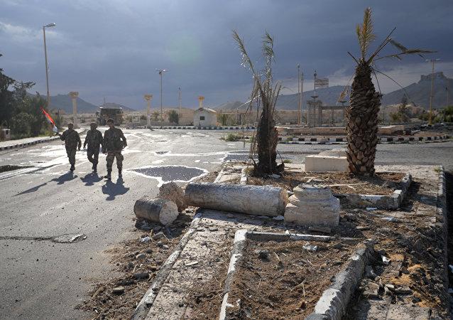La situation à Palmyre